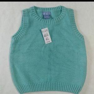 NEW sweater vest Aqua Children's Place 24 months